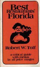 Best restaurants, Florida