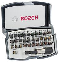 Bosch Bit-Set 32tlg. Profiqualität vom Fachhandel Verbesserter Schnellwechsel-Bi