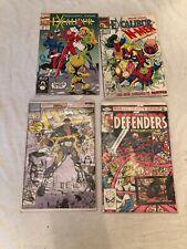 Marvel Comics Excalibur Cage Defenders Lot Of 10