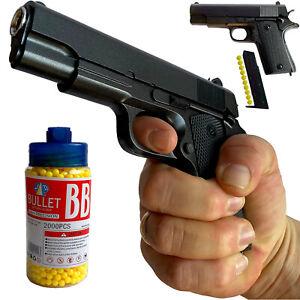 Softair Pistole Airsoft Metall Plastic Erbsenpistole Federdruck soft air Gewehr