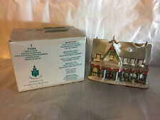 "PartyLite - ""Candle Shop"" (Christmas Village) tealight holder with Box"