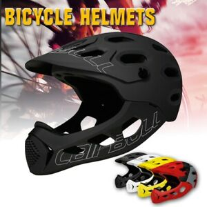 Unisex Adult Cycling Helmet Full Face Casco MTB Downhill Bicycle Safety Helmet