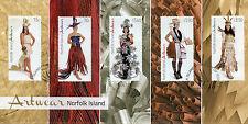 Norfolk Island 2014 FDC Artwear 5v Set Cover Art Wear Fashion Stamps