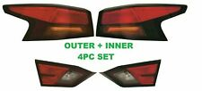 FIT NISSAN ALTIMA 2019 LEFT RIGHT TAIL LIGHTS REAR LAMPS TAILLIGHTS 4pc SET NEW