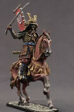 Tin toy soldiers ELITE painted 54 mm Mounted samurai, 16-17 centuries.