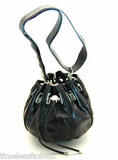 MIMCO SMALL COCOON LEATHER BAG IN BLACK BNWT RRP$349
