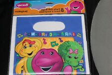 NEW BARNEY LOOT BAGS PARTY SUPPLIES