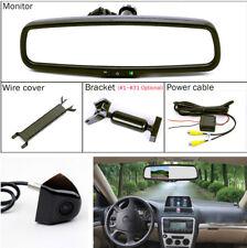 "4.3"" Car Dimming Anti-glare Rear View Mirror Monitor +  HD Night Vision Camera"
