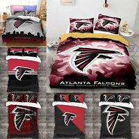 Atlanta Falcons 3PCS Duvet Cover Bedding Set Pillowcase Comforter Cover Decor