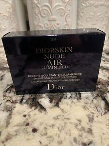 CHRISTIAN DIOR Diorskin Nude Air Luminizer, Shimmering Sculpting Powder,004, New