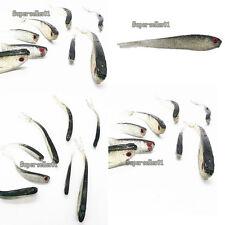 Plastics Bait Super Soft Fishing Lures Worm Bass Trout Shad Crank Swim Bait Fish