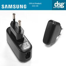 ORIGINALE Samsung SAC-48 CARICABATTERIE EU SPINA 100-240 V 50/60 HZ 0.2 A Output 4,4 V 400mA