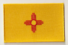 Ecusson brodé écusson patche patch drapeau NEW MEXICO thermocollant