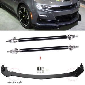For Chevy Camaro Sonic Cruze RS Front Bumper Lip Splitter Spoiler + Strut Rods M