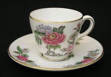 WEDGWOOD - CATHAY W4053 - DEMITASSE CUP & SAUCER - MADE IN ENGLAND