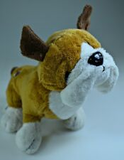 "Bulldog- Ganz Webkinz-Cheektowaga Puppy Dog Plush Animal 7""- No code- Hm126"