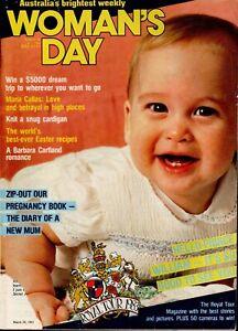 Woman's Day Australia March 28, 1983 - Rare 1980s Vintage Women's Magazine