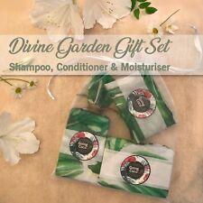 Shampoo, Conditioner, Moisturiser Gift Set_DIVINE GARDEN_Jasmine, Rose, Gardenia