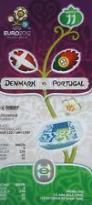 TICKET UEFA Euro 2012 Dänemark - Portugal # Match 11 in Lviv
