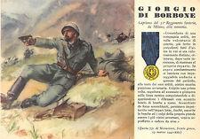 100) WW2 GRECIA, M. O. GIORGIO DI BORBONE DA MILANO, 31 FANTERIA SIENA.