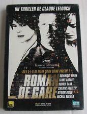 DVD ROMAN DE GARE - Fanny ARDANT / Dominique PINON - Claude LELOUCH - NEUF