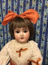 20� Antique Schoenau & Hoffmeister Bisque Head Doll. All Jointed.