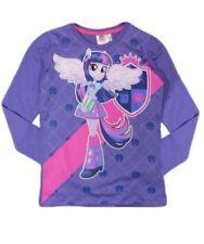 T-shirts, hauts et chemises violet à manches longues pour fille de 8 à 9 ans