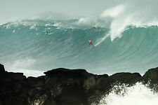 """Kelly Slater from the 2016 Eddie Aikau Event 8x12"""" Photo by Pete Frieden"""
