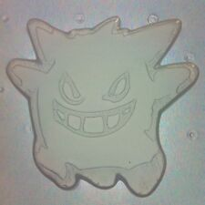 Flexible Resin Mold Gengar Kawaii Mould Resin Supplies