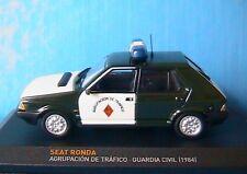 SEAT RONDA AGRUPACION DE TRAFICO GUARDIA CIVIL 1984 IXO