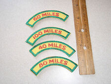 Runnng Patch Collection Milage Patches Bxm 253
