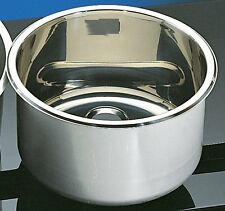Stainless Steel Circular Inset Bowl 290mm o/d x 260mm i/d