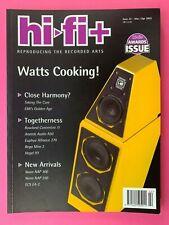Hi-Fi+ Plus Magazine - Mar 2003 #22 - NAIM AUDIO NAP300 - ECS EA-2 - REGA MIRA 3