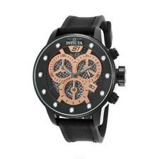 Invicta S1 Rally 19625 Mens Nylon Date Wheel Chronograph Black Watch