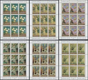 Yugoslavia 1974 Art - Flowers, Mini sheet, MNH