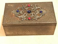 arts and crafts Jewellery Box