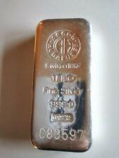 Gute Geldanlage - Silberbarren 1 kg
