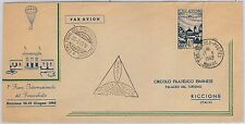 AIRMAIL - ITALY / MORROCCO: LAUNCHED / DROPPED mail ! MOROCO dispatch 1949