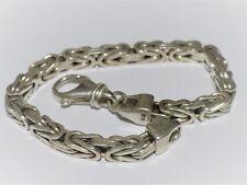 Königsmuster Armband in 925 Sterling Silber; Länge: 22cm