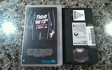 FRIDAY THE 13TH PART 2 1981 RARE OOP CLAMSHELL PARAMOUNT VHS TAPE AMY STEEL