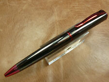 MONTEVERDE IMPRESSA TWIST ACTION BALLPOINT PEN GUN METAL/RED TRIM NEW IN BOX
