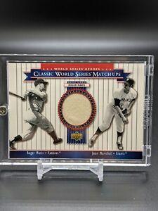2002 Upper Deck - ROGER MARIS - World Series Heroes Game Used Jersey - Yankees