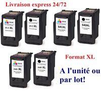 Cartouches encre compatibles Canon  PG512 CL513 PG540 CL541 PG545 CL546 XL 48 H