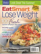 Reader's Digest Eat Smart lose Weight Magazine 2006 , 190 pages , calories  /b6