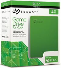 Seagate Game Drive for Xbox One 4TB USB 3.0, Portable,  External Hard Drive NEW