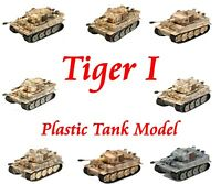 Easy Model German 1/72 Tiger 1 Plastic Tank Model Normandy All of Easy Model