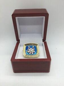 1970 Indianapolis Colts Johnny Unitas Super Bowl Championship Ring with Display