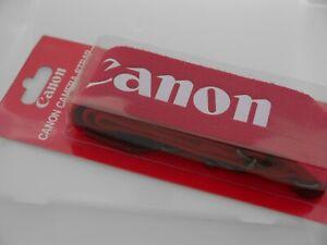 Canon Red Camera Strap