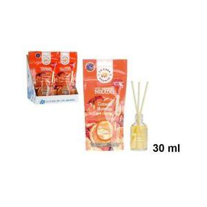 Mikado Cannelle et Orange 30ml Diffuseur de Parfum d'Ambiance Bâtons