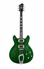 Hagstrom Limited Edition Viking Custom Deluxe Emerald Green ElectrIc Guitar RARE